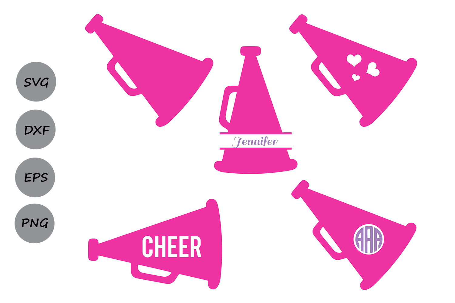 Download Free Cheer Megaphone Graphic By Cosmosfineart Creative Fabrica SVG Cut Files