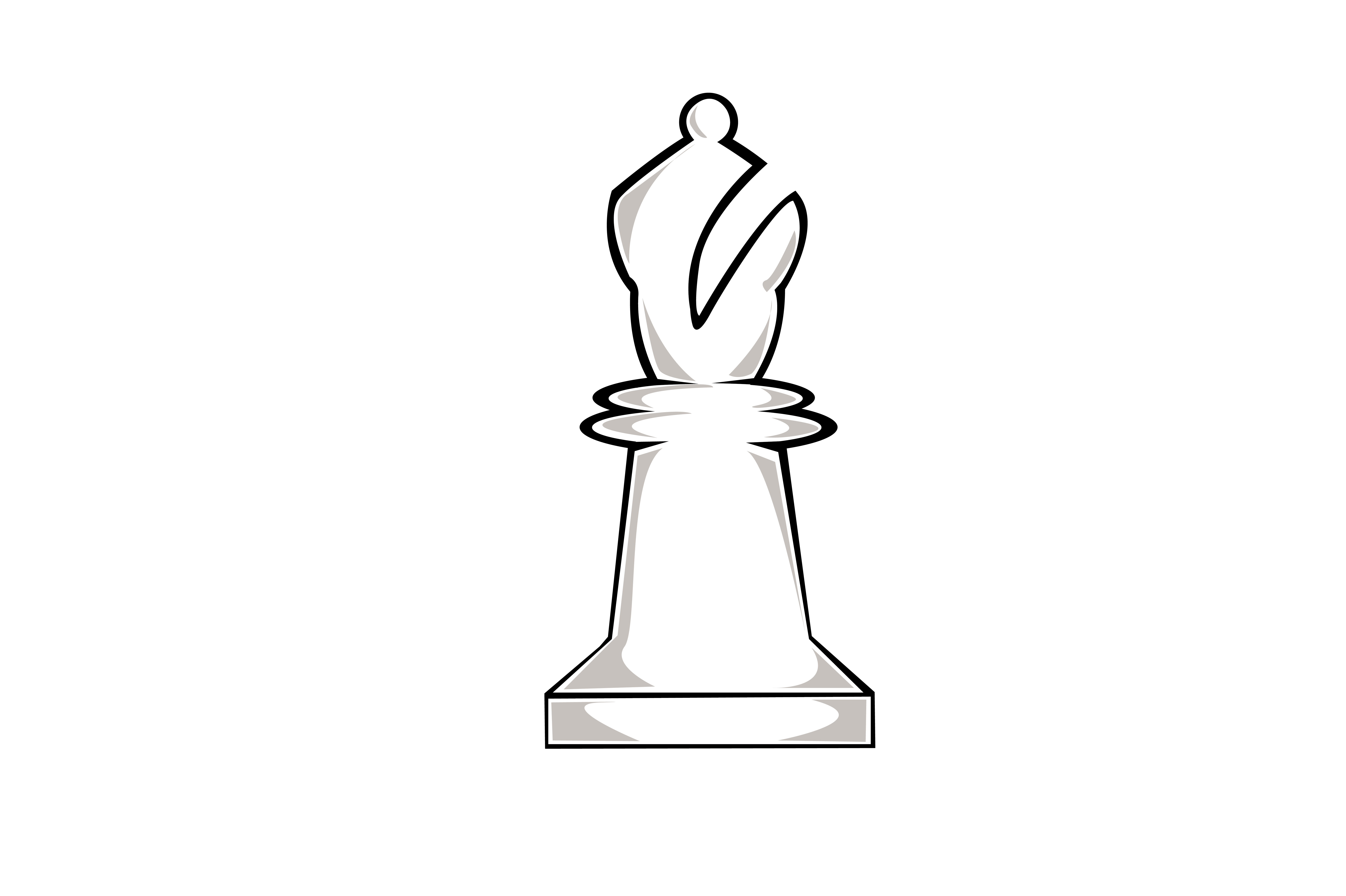 Download Free Chess Piece Bishop Graphic By Rfg Creative Fabrica for Cricut Explore, Silhouette and other cutting machines.