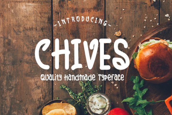 Print on Demand: Chives Script & Handwritten Font By MJB Letters