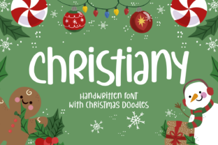 Print on Demand: Christiany Script & Handwritten Font By Keithzo (7NTypes) 1