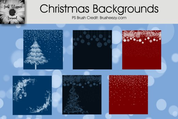 Christmas Backgrounds Graphic Backgrounds By justclippinaround