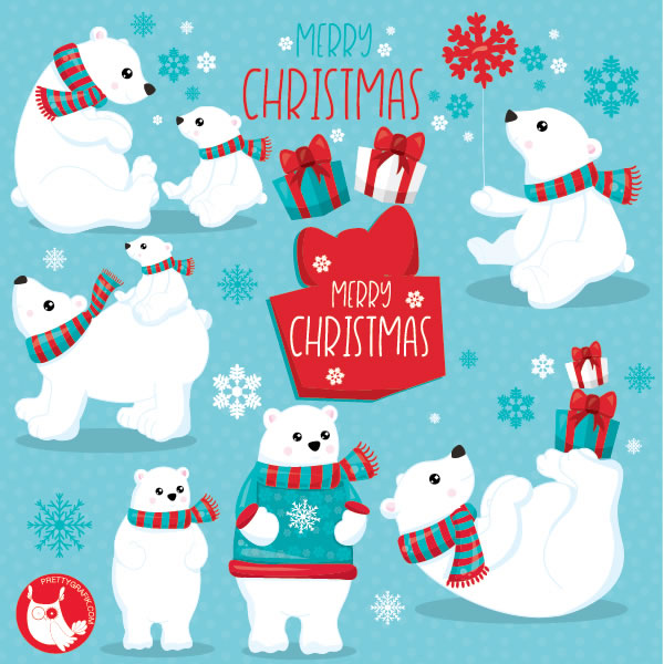 Download Free The Mega Christmas Bundle Graphic By Prettygrafik Creative Fabrica for Cricut Explore, Silhouette and other cutting machines.