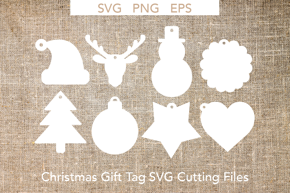 Download Free Christmas Gift Tags Svg Cutting Files Graphic By Liebreizdesign for Cricut Explore, Silhouette and other cutting machines.