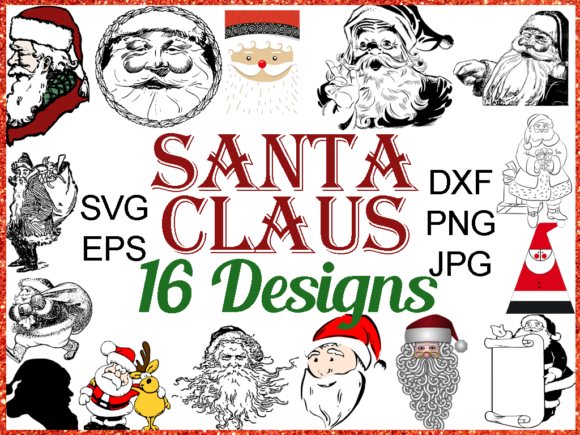 Print on Demand: Christmas Mega Bundle Graphic Illustrations By Quiet Deluxe Digital - Image 8