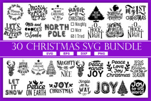 Download Free Christmas Quotes Bundle Graphic By Subornastudio Creative Fabrica for Cricut Explore, Silhouette and other cutting machines.