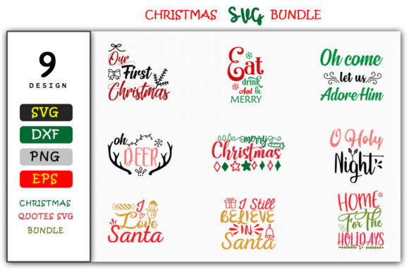 Christmas Quotes Svg.Christmas Quotes Svg Design Bundle