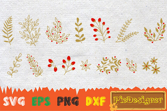 Download Free Christmas Collection Graphic By Piedesigner Creative Fabrica for Cricut Explore, Silhouette and other cutting machines.