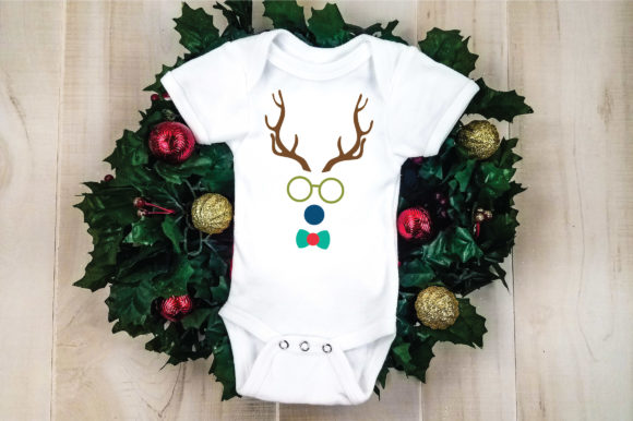 Download Free Christmas File Boy Reindeer Graphic By Oldmarketdesigns for Cricut Explore, Silhouette and other cutting machines.