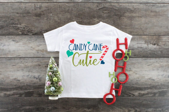 Download Free Christmas Candy Cane Cutie Graphic By Oldmarketdesigns for Cricut Explore, Silhouette and other cutting machines.