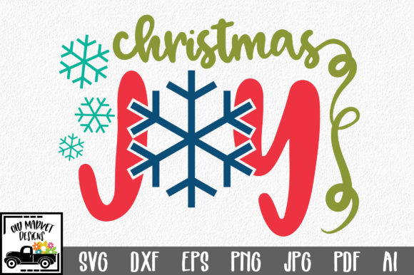 Christmas File Christmas Joy Graphic By Oldmarketdesigns
