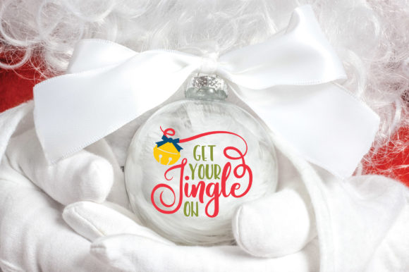 Print on Demand: Christmas - Get Your Jingle on Graphic Crafts By oldmarketdesigns - Image 4