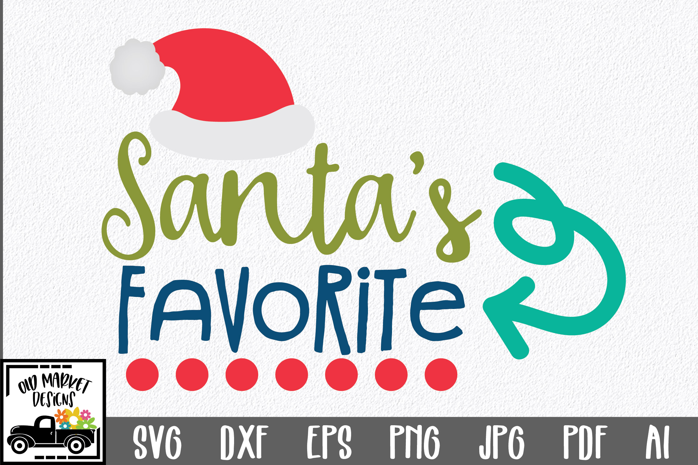 Download Free Christmas Santa S Favorite Graphic By Oldmarketdesigns for Cricut Explore, Silhouette and other cutting machines.