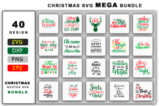 Christmas Mega Bundle Graphic Crafts By SVGstore