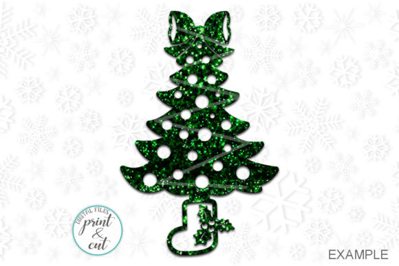 Download Free Christmas Trees Svg Graphic By Cornelia Creative Fabrica for Cricut Explore, Silhouette and other cutting machines.