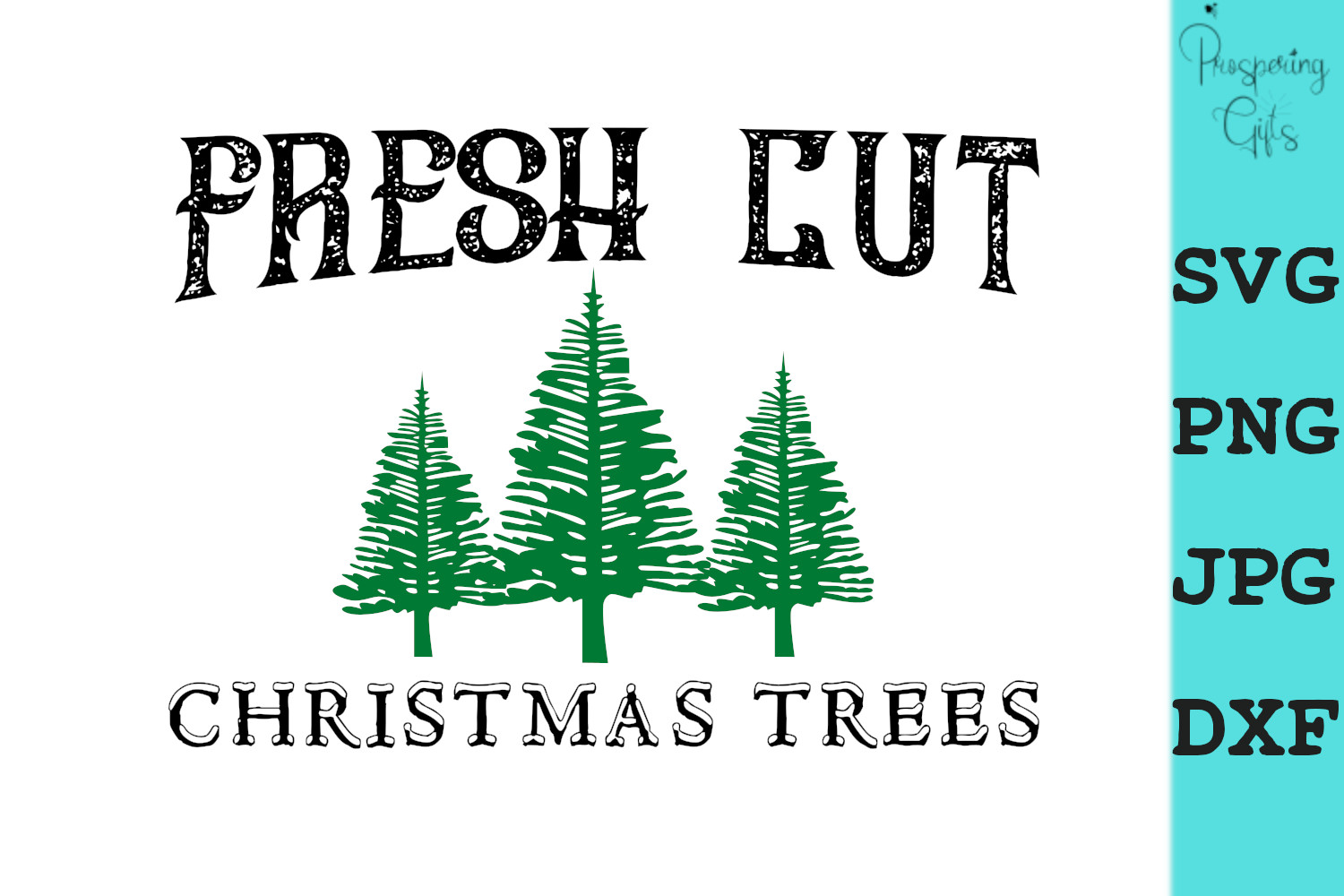 Download Free Christmas Trees Graphic By Prospering Gifts Creative Fabrica for Cricut Explore, Silhouette and other cutting machines.