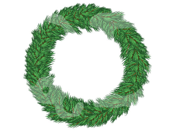 Download Free Christmas Wreath And Gift Bundle Graphic By Quiet Deluxe Digital for Cricut Explore, Silhouette and other cutting machines.