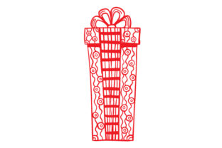Christmas Gift Intricate cuts Craft Cut File By Creative Fabrica Crafts