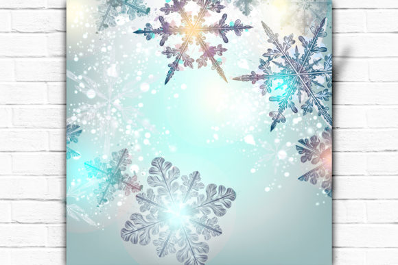 Christmas Shiny Background Graphic Backgrounds By fleurartmariia - Image 2