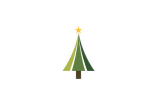 Christmas Tree Logo Graphic By Acongraphic
