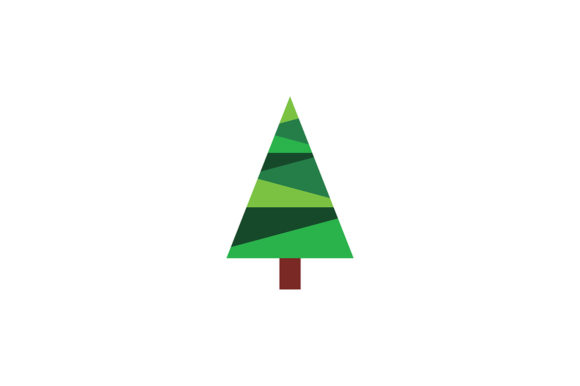 Download Free Christmas Tree Logo Graphic By Acongraphic Creative Fabrica for Cricut Explore, Silhouette and other cutting machines.