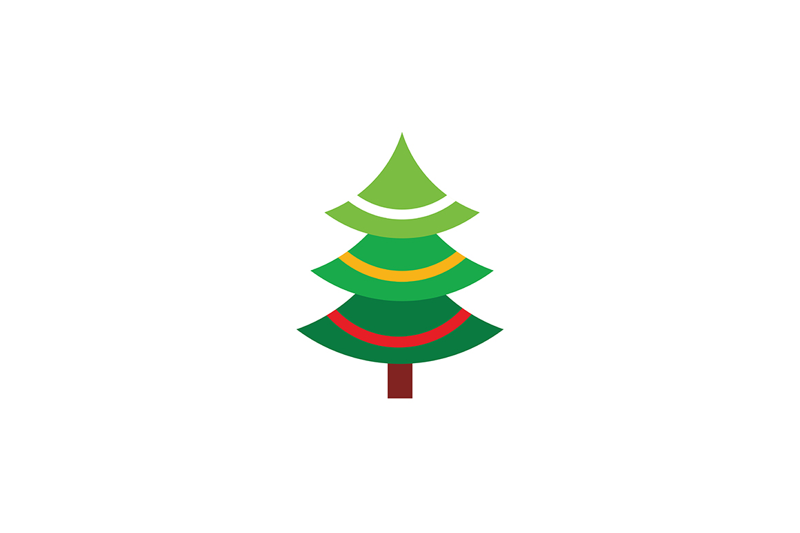 Download Free Christmas Tree Logo Graphic By Acongraphic Creative Fabrica SVG Cut Files