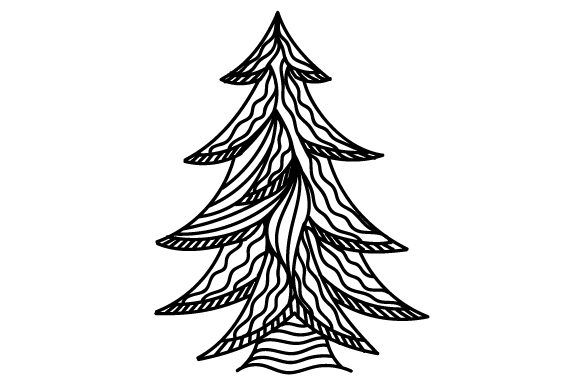 Download Free Christmas Tree Svg Cut File By Creative Fabrica Crafts SVG Cut Files