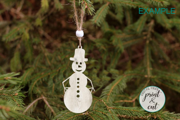 Download Free Christmas Tree Decorations Svg Graphic By Cornelia Creative for Cricut Explore, Silhouette and other cutting machines.