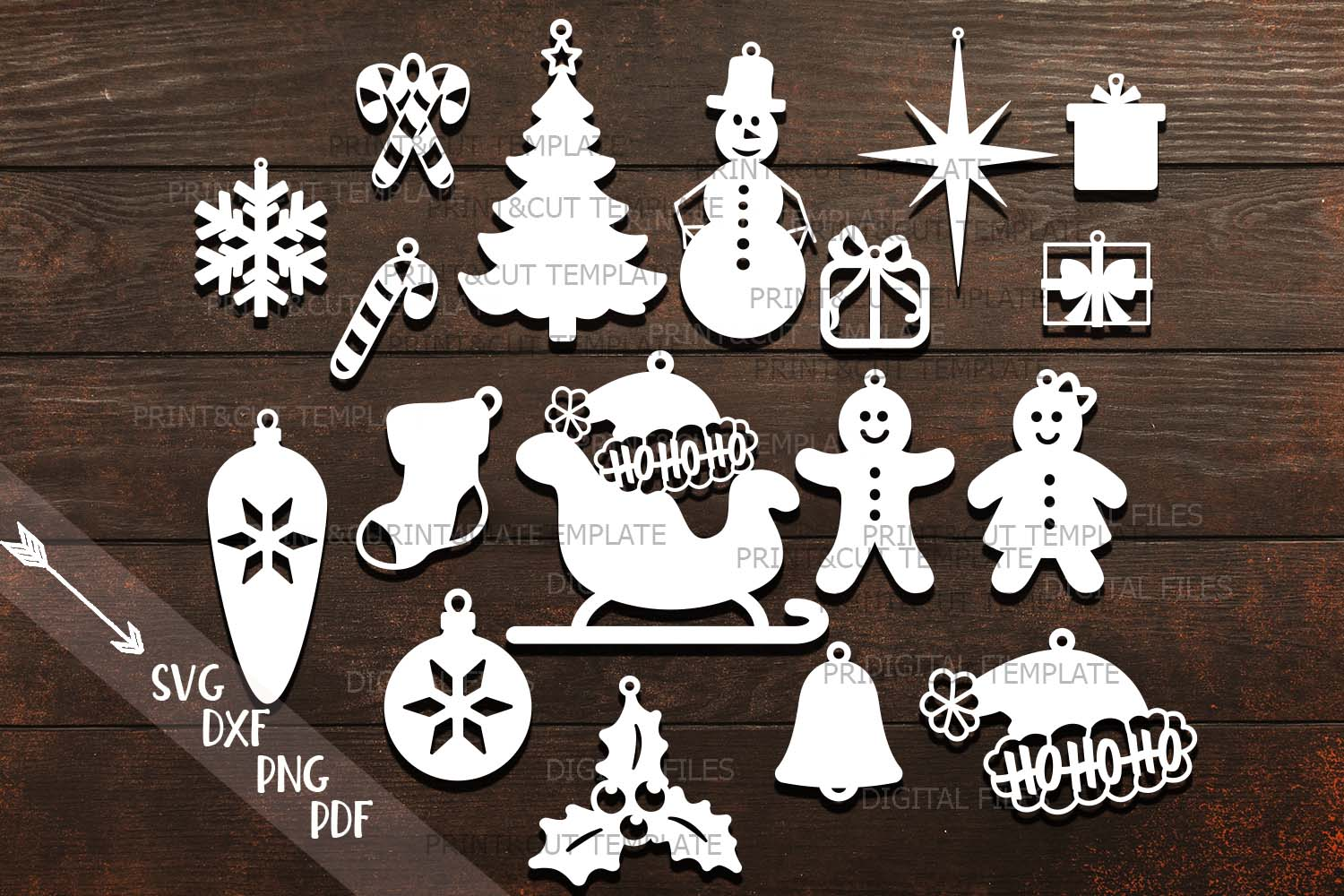 Download Free Christmas Tree Decorations Svg Grafico Por Cornelia Creative for Cricut Explore, Silhouette and other cutting machines.