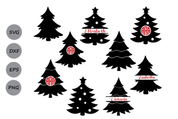 Christmas Tree Graphic By Cosmosfineart Creative Fabrica