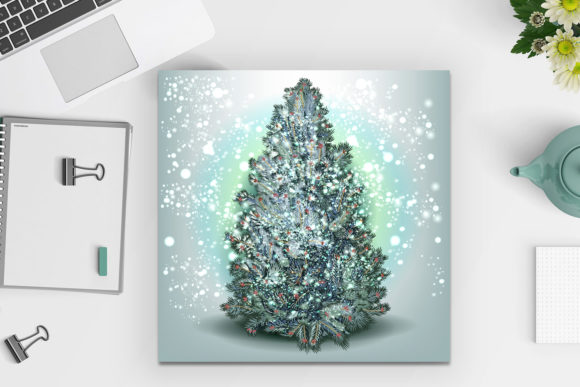 Christmas Vector Trees Clipart Graphic Objects By fleurartmariia - Image 6