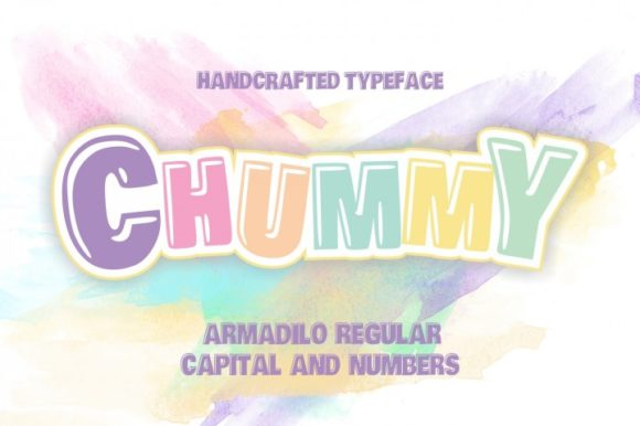 Print on Demand: Chummy Display Font By bywahtung