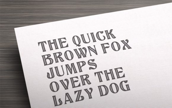 Print on Demand: Classy Display Font By bywahtung - Image 8