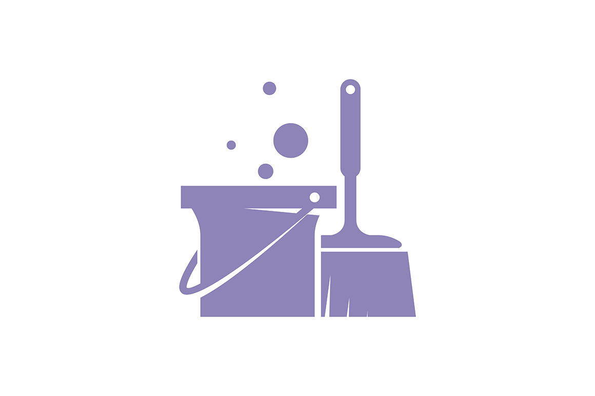 Download Free Cleaning Service Logo Graphic By Friendesigns Creative Fabrica for Cricut Explore, Silhouette and other cutting machines.