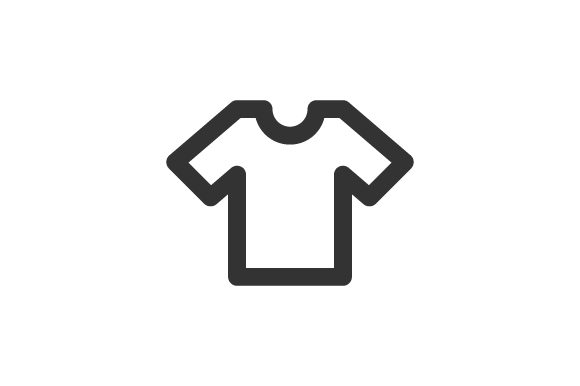 Download Free Clothes Icon Graphic By Rudezstudio Creative Fabrica for Cricut Explore, Silhouette and other cutting machines.