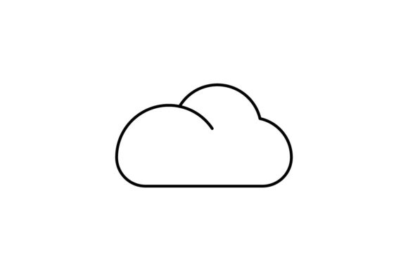Print on Demand: Cloud Graphic Icons By khld939