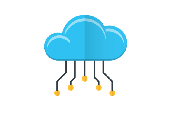 Cloud Computing Graphic by back1design1 · Creative Fabrica