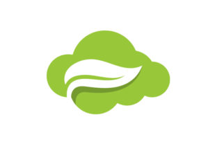 Download Free Cloud Leaf Vector Logo Graphic By Hartgraphic Creative Fabrica for Cricut Explore, Silhouette and other cutting machines.