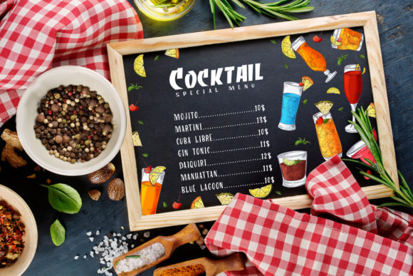 Cocktails Bundle + Bonus Graphic Illustrations By tregubova.jul - Image 3