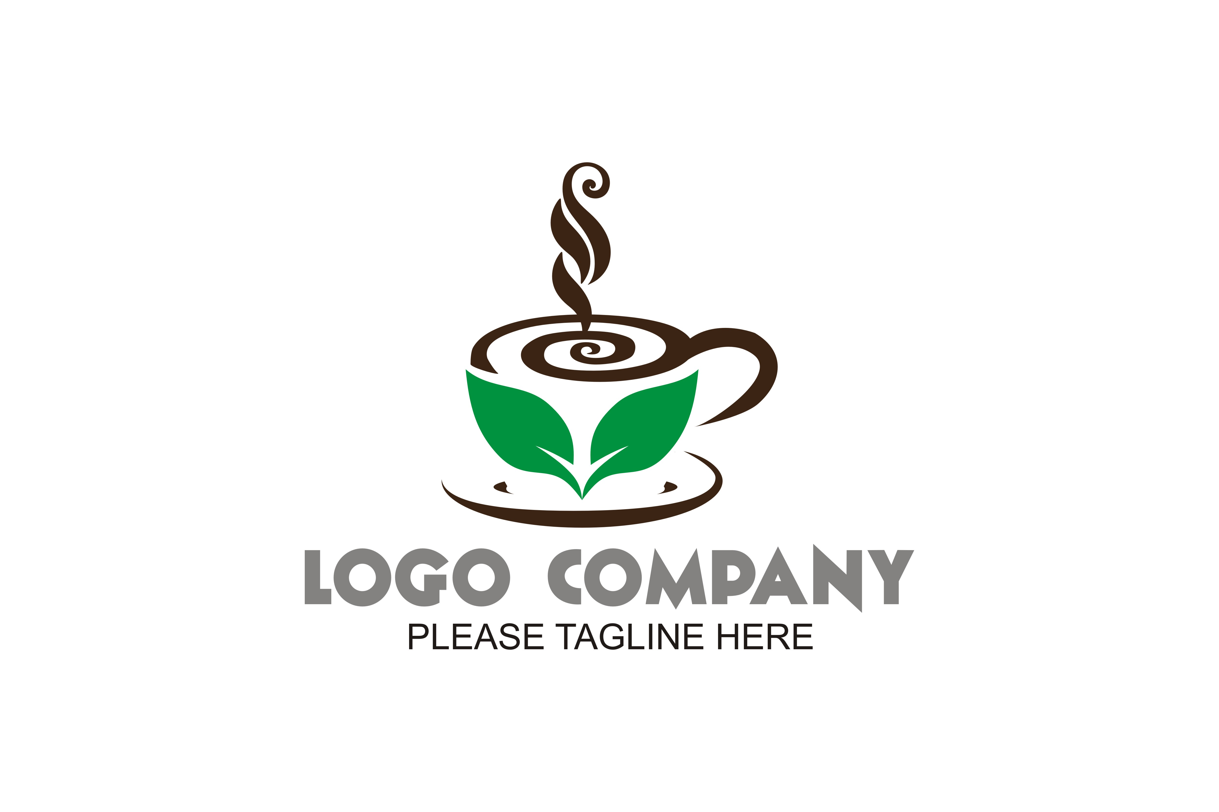 Download Free Coffee Logo Graphic By Friendesigns Creative Fabrica for Cricut Explore, Silhouette and other cutting machines.