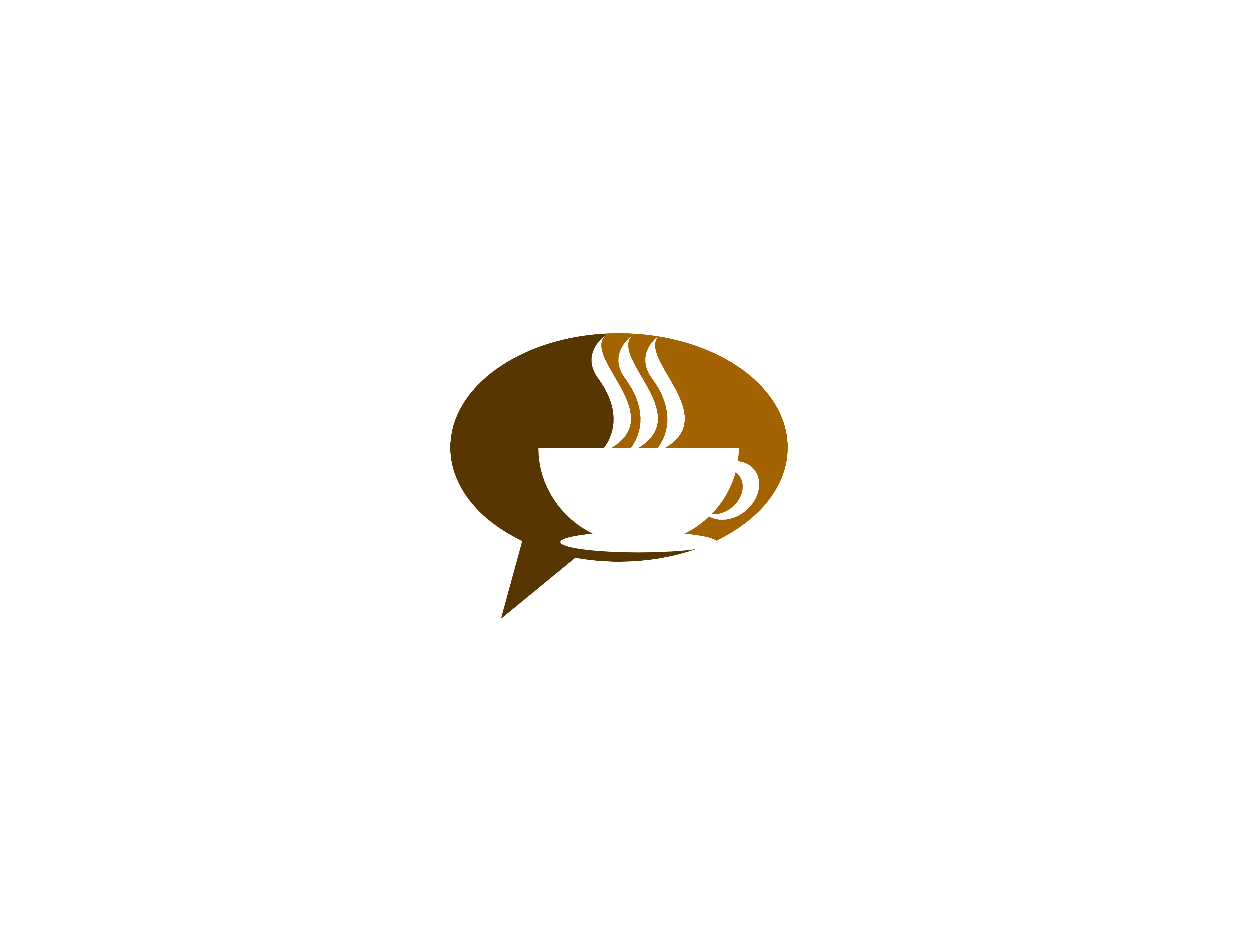 Download Free Coffee Chat Logo Graphic By Meisuseno Creative Fabrica for Cricut Explore, Silhouette and other cutting machines.