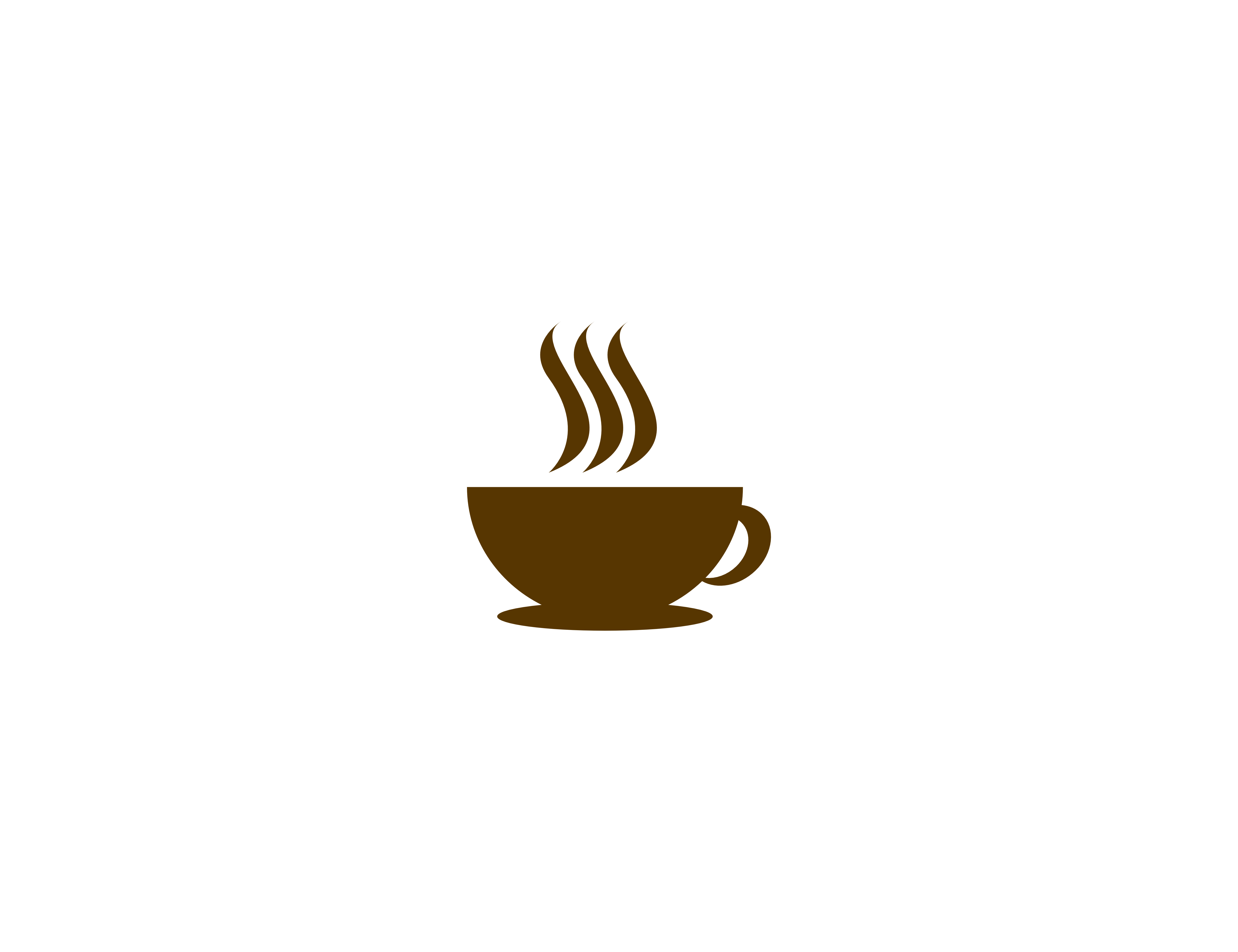 Download Free Coffee Logo Graphic By Meisuseno Creative Fabrica for Cricut Explore, Silhouette and other cutting machines.