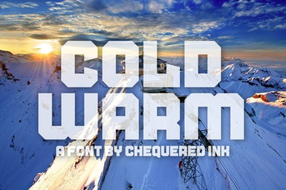 Print on Demand: Cold Warm Display Font By Chequered Ink