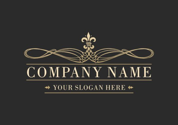 Download Free Company Business Luxury Logo Graphic By Deemka Studio for Cricut Explore, Silhouette and other cutting machines.