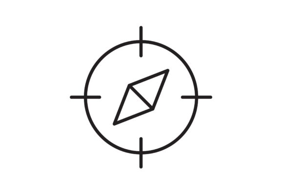Print on Demand: Compass Graphic Icons By Iconika