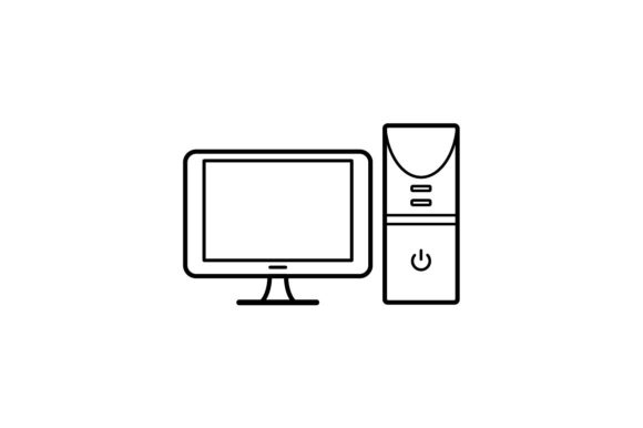 Print on Demand: Computer Graphic Icons By khld939