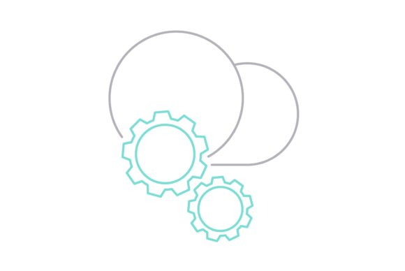 Print on Demand: Configuration Graphic Icons By Iconika