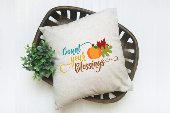 Download Free Count Your Blessings Svg Graphic By Oldmarketdesigns Creative for Cricut Explore, Silhouette and other cutting machines.