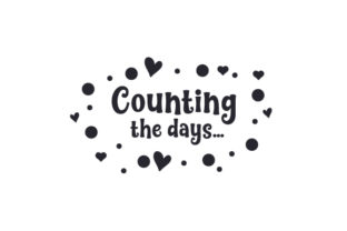 Counting the Days... Baby Craft Cut File By Creative Fabrica Crafts
