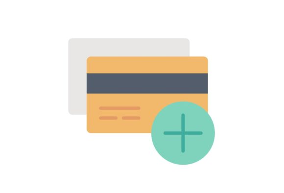 Print on Demand: Credit Card Add Graphic Icons By Iconika