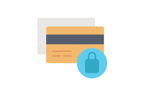 Print on Demand: Credit Card Protection Graphic Icons By Iconika
